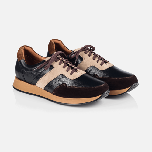 Buty Sneakers Brown