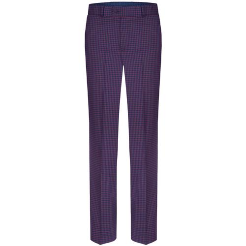 Spodnie High-waisted Porto Red