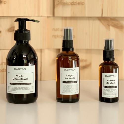 Zestaw naturalnych kosmetyków do pielęgnacji