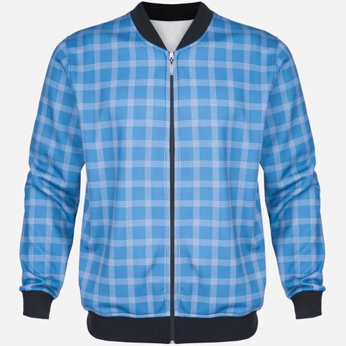 Bluza Dres Bomber Blue