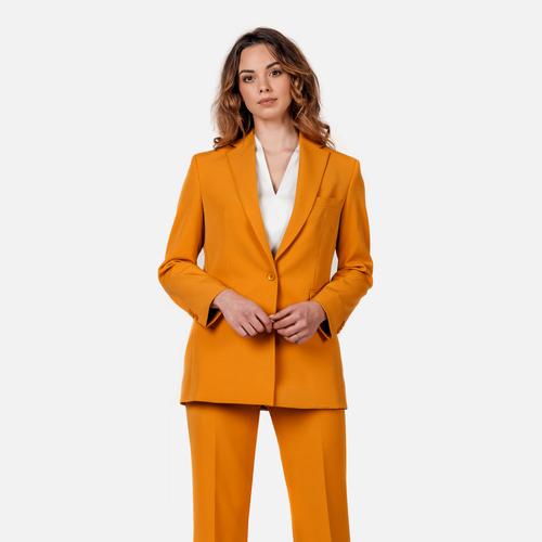Spodnie damskie Oversize Yellow