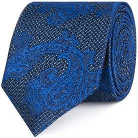 Krawat Sapphire Leaf